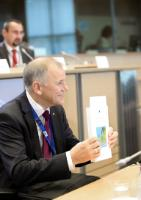 """Illustration of """"Hearing of Vytenis Andriukaitis, Member designate of the EC, at the EP"""""""