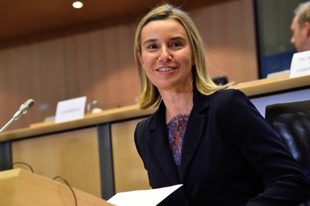 Hearing of Federica Mogherini, Vice-President designate of the EC, at the EP