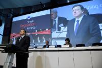 "Illustration of ""Participation of José Manuel Barroso, President of the EC, in the 'Smart Regulation in the EU - Building..."