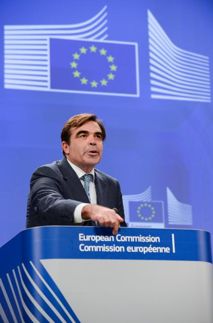Margaritis Schinas at the midday Briefing