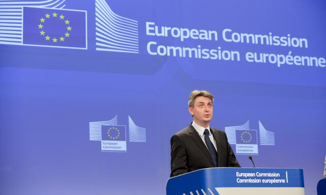 Press conference by Jacek Dominik, Member of the EC, on the revision of national contributions to the EU budget