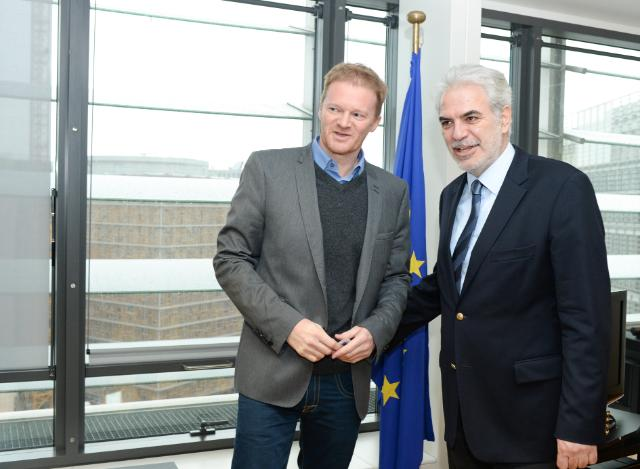 Visit of Christopher Stokes, General Director of MSF, to the EC