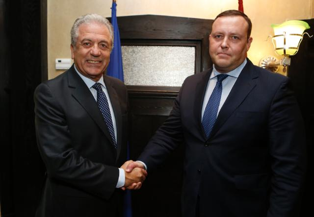 Participation of Dimitris Avramopoulos, Member of the EC, at the bilateral meeting between the Justice and Home Affairs Ministers of the EU and the United States, in Washington