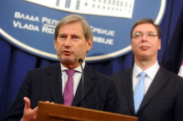 Visit by Johannes Hahn, Member of the EC, to Serbia