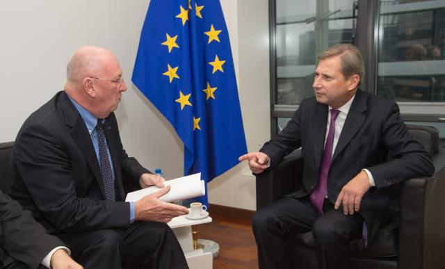 Visit of Michel Lebrun, President of the CoR, to the EC