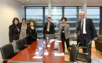 Visit of Tamira Gunzburg, Brussels Director of The ONE Campaign, to the EC