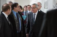 "Illustration of ""Visit of Jean-Claude Juncker, President of the EC, to France"""