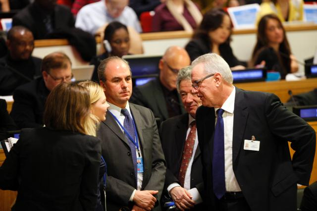 Participation of Neven Mimica, Member of the EC, in the intergovernmental negotiations on the Post-2015 Development Agenda, in New-York