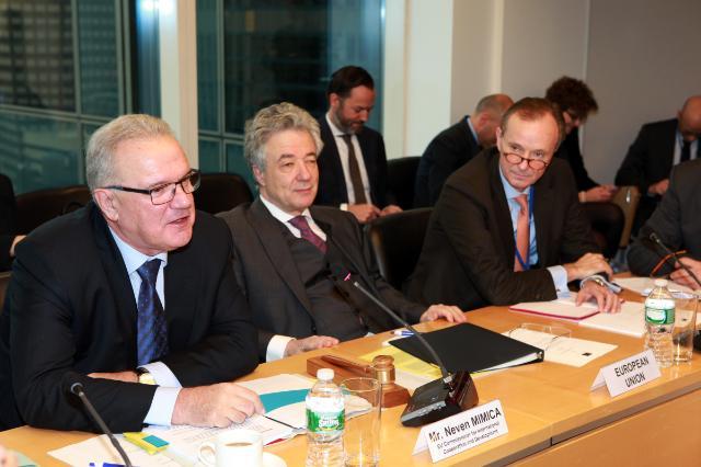 Participation de Neven Mimica, membre de la CE, aux négociations intergouvernementales sur le Programme de développement post-2015, à New-York
