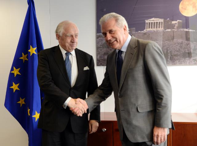 Visit of Peter Sutherland, Special Representative of the UN Secretary-General for International Migration and Development, to the EC