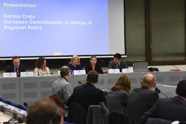 Participation of Corina Creţu, Member of the EC, at the 2015 meeting of the Regional Offices