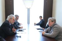 "Illustration of ""Participation of Kristalina Georgieva, Vice-President of the EC, and  Christos Stylianides, Member of the..."
