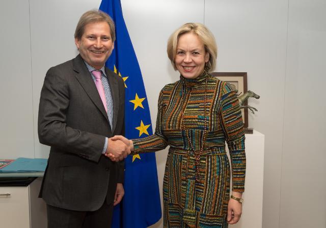 Visite d'Alena Kupchyna, vice-ministre biélorusse des Affaires étrangères, à la CE