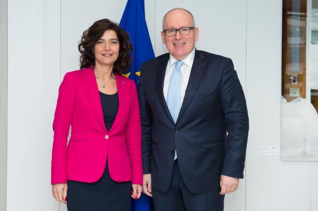 Visit of Anouchka van Miltenburg, Speaker of the Dutch House of Representatives, to the EC