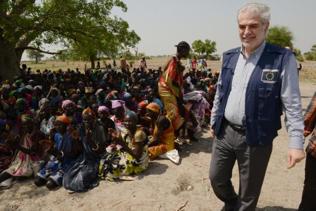 """Illustration of """"Visit by Christos Stylianides to South Sudan"""""""