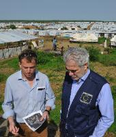 Visit of Christos Stylianides, Member of the EC, to South Sudan