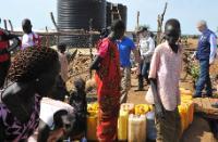 Visite de Christos Stylianides, membre de la CE, au Soudan du Sud