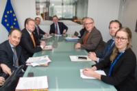 Visit of Ard van der Steur, Dutch Minister for Security and Justice, to the EC