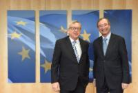 """Illustration of """"Visit of Christoph Leitl, President of the Austrian Federal Economic Chamber, to the EC"""""""