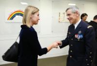 Visite de Federica Mogherini, vice-présidente de la CE, à Washington