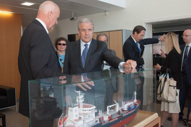 Visit of Dimitris Avramopoulos, Member of the EC, to Portugal