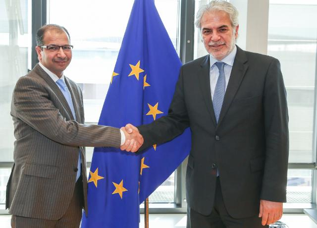 Visit of Salim al-Jabouri, Speaker of the Iraqi Parliament, to the EC