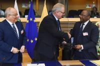 Signature ceremony of the Central Africa Regional Indicative Programme of the 11th EDF