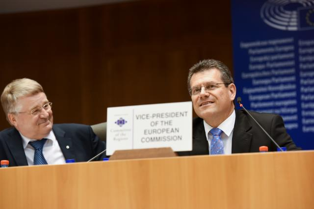 Participation of Maroš Šefčovič, Vice-President of the EC, at the 113th Plenary Session of the CoR