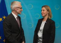 Visit of Jürgen Stock, Secretary General of Interpol, to the EC