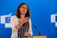 Press conference by Cecilia Malmström, Member of the EC, on the agreement on free trade deal