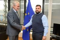 Visit of Costa Gavrielides, President of 'Accept – LGBT Cyprus', to the EC
