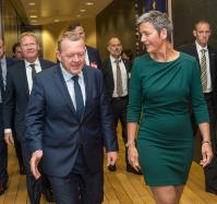 Visite de Lars Løkke Rasmussen, Premier ministre danois, à la CE