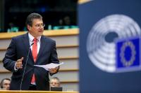 Participation of Maroš Šefčovič, Vice-President of the EC, in the EP plenary debate on the Energy Summer Package