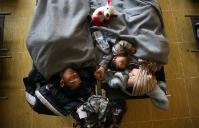 Les réfugiés en Serbie et en Croatie