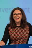 Press conference by Cecilia Malmström, Member of the EC, on the new trade and investment strategy for the EU 'Trade for everyone: towards a more responsible trade and investment policy'