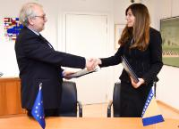 Signature ceremony of the Europe for Citizens programme by Bosnia and Herzegovina