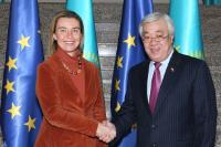 Visit of Federica Mogherini, Vice-President of the EC, to Kazakhstan