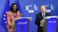 Joint press conference by Sherry Ayitey, Ghanaian Minister for Fisheries and Aquaculture Development, and Karmenu Vella, Member of the EC, on the fight against illegal, unreported and unregulated fishing