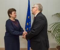 Visit of Rimantas Šadzius, Lithuanian Minister for Finance, to the EC
