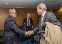 Visit of Martti Ahtisaari, Chairman of the Independent Commission on Turkey, and Albert Rohan, Member of the Independent Commission on Turkey, to the EC