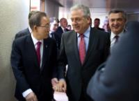 Visite de Dimitris Avramopoulos, membre de la CE, à Genève