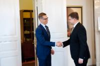 Visit of Valdis Dombrovskis, Vice-President of the EC, to Helsinki