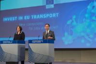 Joint press conference by Jyrki Katainen, Vice-President of the EC, and Violeta Bulc, Member of the EC, on the announcement of the results of the 2nd CEF call for proposals