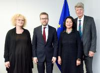 Visit of the European Group on Ethics (EGE) Identification Committee to the EC