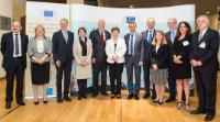 Participation of Kristalina Georgieva, Vice-president of the EC, Christos Stylianides, Tibor Navracsics, and Carlos Moedas, Members of the EC, in the launch event of the Knowledge Centre for Migration and Demography