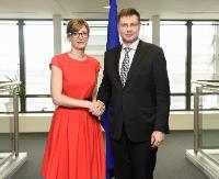 Visit of Ekaterina Zaharieva, Bulgarian Minister for Justice, to the EC