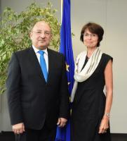 Visite de Michael Farrugia, ministre maltais de la Famille et de la Solidarité sociale, à la CE