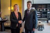 Visit of Federica Mogherini, Vice-President of the EC, to Romania