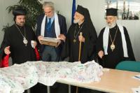 Visit of Gregory III, Patriarch, George, Metropolitan, and Selwanos Boutros Alnemeh, Archbishop, to the EC