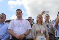 Launch of Ariane 5 ES in Kourou, with the participation of Maroš Šefčovič, Vice-President of the EC, and Elżbieta Bieńkowska, Member of the EC